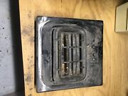 Antique Wheeling Wall Heater Electric