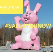 30and039 Foot Inflatable Easter Bunny Rabbit Custom Made New See My Other Inflatables