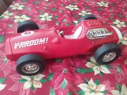 Vintage 1963 Mattel V-rroom Vroom Red 5 Race Car Made In Usa As Is