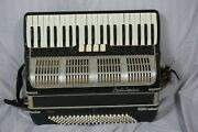 Vintage Paolo Soprani 120 Bass Accordion As Is Parts Repair
