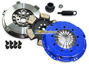 Fx Stage 4 Clutch Kit And 14.5 Lbs Racing Flywheel Fits Bmw M3 E46 S54