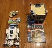 Lego Star Wars Lot Of 3 Sets-used Not 100-10225 R2d2,10232 Palace Cinema,75080