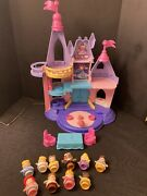 Fisher Price Little People Disney Princess Songs Palace Castle 10 Figures