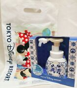 Tokyo Disney Resort Limited Mickey Mouse And Minnie Shape Hand Foam Soap Dispenser