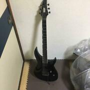 Horizon Iii By Esp Black 6 Strings Electric Guitar With Soft Case Japan Shipped
