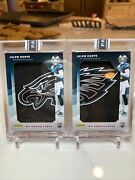 2020 Panini Instant Jalen Hurts 1/2 Rookie Logos Eagles Patch Sp 1/2 And 2/2
