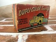 Dupli Color Touch-up Paint 1 Bottle 1947 Car Automobile Display Collectible