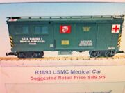 Usa Trains G Scale 1893 Us Military Series Usmc Medical Car New Release