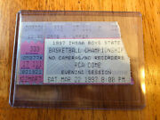 1997 Indiana High School Basketball State Finals Ticket Stub