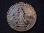 New Jersey State Agricultural Society Engraved Award Medal, Unknown Year