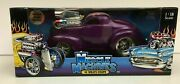 Willys 1941 Blown And03941 Coupe 1/18 118 Muscle Machines Diecast Car Rare New