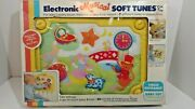 New Child Guidance Eletronic Musical Soft Tunes Crib Baby Toy Vintage 1985