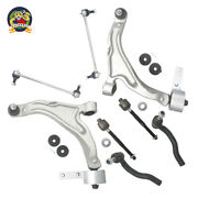 8pc Kit Tie Rod End Control Arm Ball Joint Sway Bar Link Lh Rh Fit Pilot New