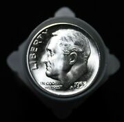 1953-s Roosevelt Silver Dime Bu Roll - 50 Uncirculated Coins -