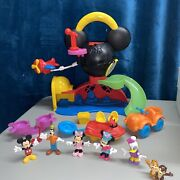 Disney Mickey Mouse Clubhouse Fly 'n Slide Playset With Accessories