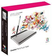 Wacom Intuos Comic Art Pen And Touch Tablet Cth-480/s3