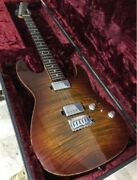 History Ah-s50 / Fm Limited Edition Electric Guitar W/ Hard Case Japan Shipped