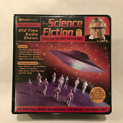 60 Greatest Old Time Radio Shows From Science Fiction 30 Cd Set Ray Bradbury