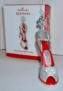 Hallmark Keepsake 2013 Put On Your Party Shoes Christmas Ornament New In Box