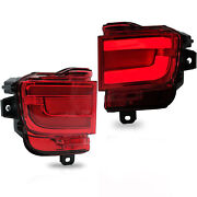 Left+right Led Taillights Replacement Signal Light For 16-19 Toyota Land Cruiser