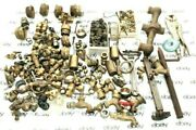 Sale Lot Of Brass Plumbing Fittings, Parts, Hydraulic Parts And Some Tools Etc.