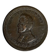 1863 Civil War Token Cwt A Common Cause Now And For Ever For Our Country
