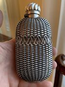 1 Of 2 Rare Antique Aesthetic Sterling Silver Whiskey Flask Gorham