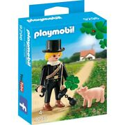 Playmobil City Life Chimney Sweep With Lucky Pig 9296 Game Figure