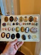 Rare Vintage Costume Jewelry Sample Board New Old Stock 1950andrsquos