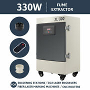 330w Air Purifier 5 Stage Filter Fume Extractor For Co2 Laser Engraving Machines