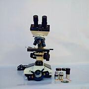 Binocular Phase Contrast Microscope Pcm Clinical Asbestos Count