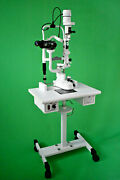 5 Step Slit Lamp With Manual Table And 110 V Power Supply Haag Streit