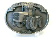 Case Ih 9100 Series 4wd Tractor 1987 Pewter Belt Buckle 9190 9180 9170 9150 9110