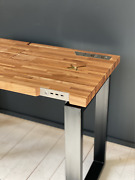 Smart Desk With Built-in Usb And Wireless Charging