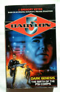 Babylon 5 Dark Genesis The Birth Of The Psi Corps By J. Gregory Keyes