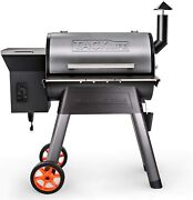 Tacklife Wood Pellet Grill And Smoker,8-in-1 Bbq Grill, 700 Sq In Cooking Area,