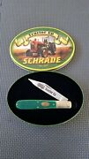 Knife Schrade Tractor Up In Gift Tin Commemorating American Farmer Nwb