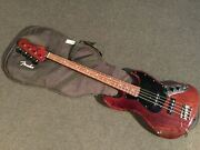 Fender Japan Jb62-wal Jazz Electric Bass Guitar With Soft Case