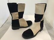 Hush Puppies - Retro / Vintage / Disco - Suede Boots - Womens - Freaky