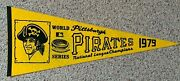 Pittsburgh Pirates 1979 Mlb Full-size Vintage Pennant - National League Champs