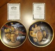 Star Trek The Crew And Next Generation The Crew Collector's Plates