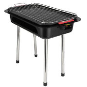 Outdoor Multifunction Smokeless Double Layer Electric Barbecue Grill Stove 125v