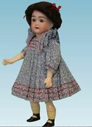8.5 Antique German Bahr And Proschild Doll 209 Compo Body W.molded Socks And Shoes