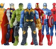 Marvel Avengers Super Heroes 30cm Action Figures Toy Kid Collect Gift