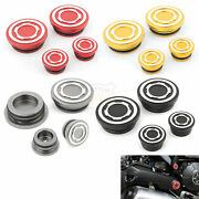 4x Motorcycle Frame Plugs Hole Cap Cover For Ducati Scrambler 400 800 1100 13-20