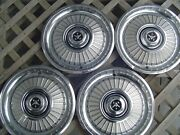 Vintage 1959 59 Desoto Firedome Firesweep Fireflite Hubcaps Wheel Covers Rims