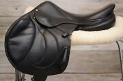 Gorgeous Black 2018 18 Antares Contact Monoflap Saddle For Sale Full Calf