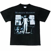 Vintage 1996 Marilyn Manson Shirt Size Medium Fits A Small 90andrsquos Winterland