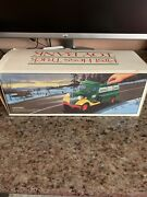 Vintage 1985 First Hess Truck Toy Bank, New In Box