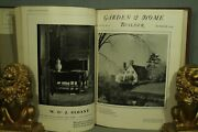 Antique Old Garden And Home Builder Architecture Decorating 1925-1926 Hardcover